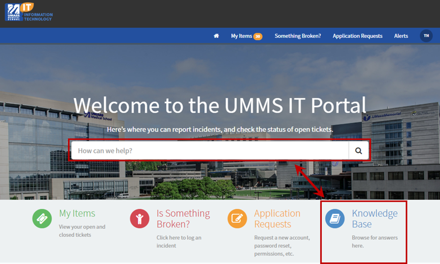 IT Blog – The Knowledge Has Arrived on the Help Desk Portal
