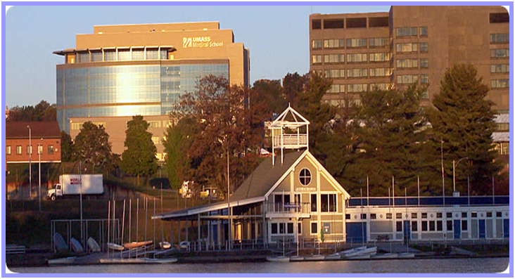 UMass with Boathouse