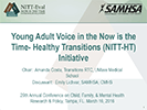 Young Adult Voice in the Now is the Time- Healthy Transitions (NITT-HT) Initiative thumbnail