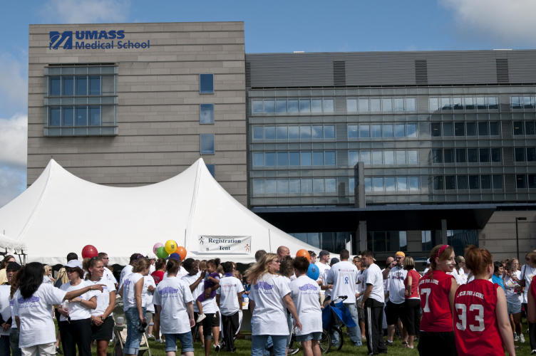 Thousands of people participated in the 2010 Walk to Cure Cancer, now called the UMass Medicine Cancer Walk
