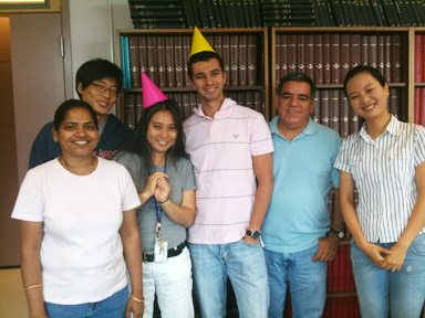 Lab Birthday Party