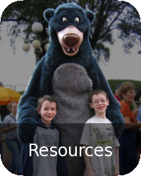 Family Resources Button