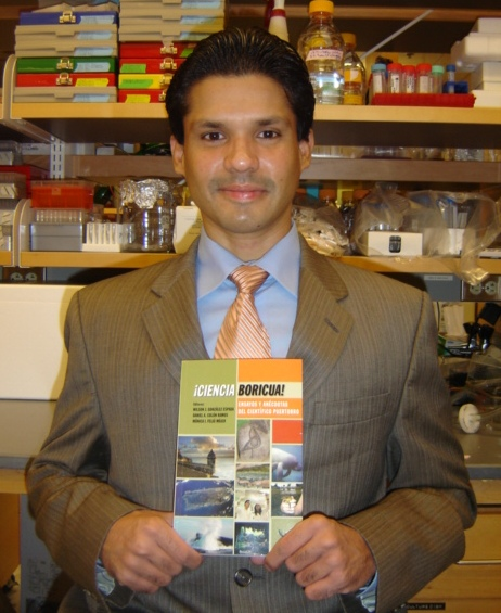Post Doc Contributes To Book Promoting Puerto Rican Science Umass