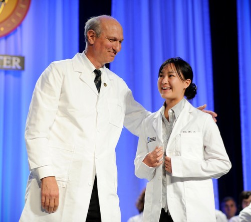First-year medical students urged to view white coats as 'an ...