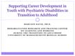 Supporting Career Development in Youth