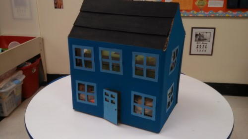A house for Second Step Puppets