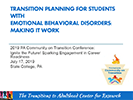 Transition Planning for Students with Emotional Behavioral Disorders: Making it Work thumbnail