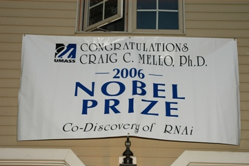 Nobel Prize Reception