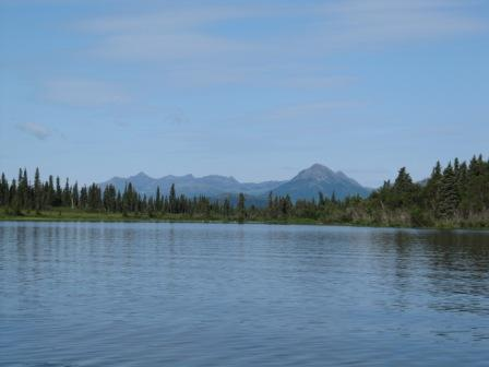 Alaska picture-view from boat