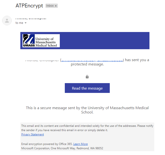 Proofpoint Email