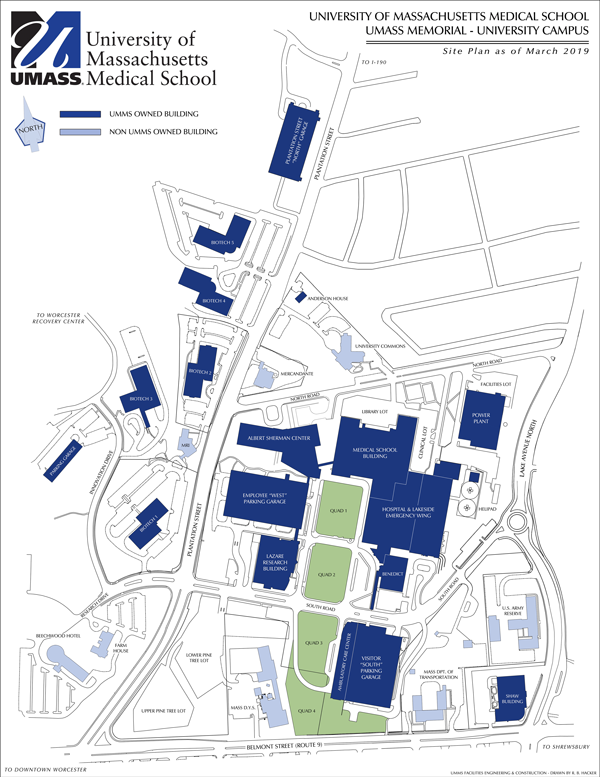 Campus Map - Um Medical School on map of morgan state university campus, map of furman university campus, map of lander university campus, map of tuskegee university campus, map of clemson university campus, map of virginia state university campus, map of coastal carolina university campus, map of palmetto health richland campus, map of christopher newport university campus, map of roger williams university campus, map of winthrop university campus, map of prairie view a&m university campus,