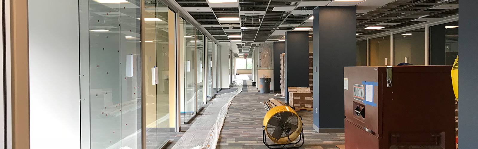 Refurbishing of the medical school building to accommodate the office needs of our faculty