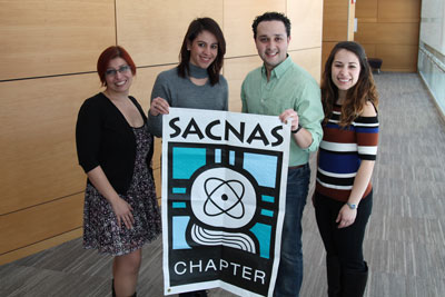 SACNAS chapter at UMMS