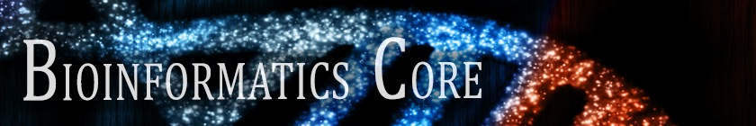 Bioinformatics Core banner