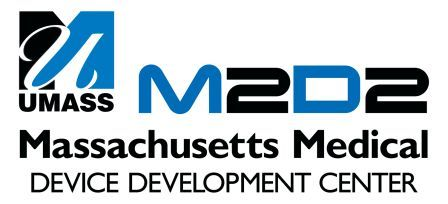 The Massachusetts Medical Device  progress  hub logo