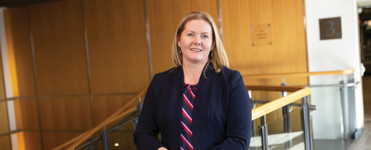 Katherine Fitzgerald, PhD, 2018 Chancellor's Medal for Distinguished Scholarship