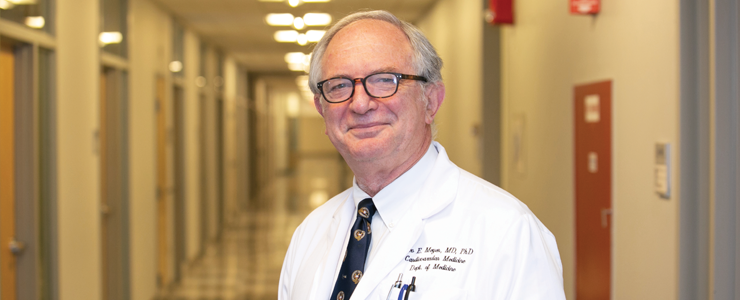 Theo Meyer, MD, PhD,  2018 Chancellor's Medal for Distinguished Clinical Excellence