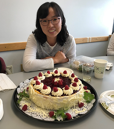 Myoung Sook Han Promoted to Assistant Professor
