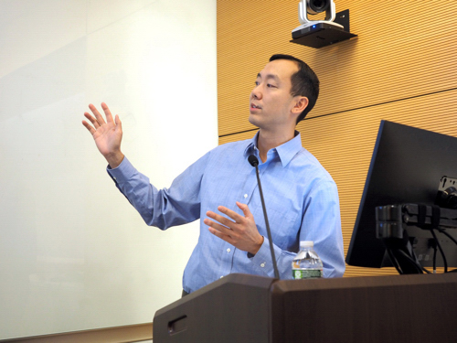 Dr. Andrew Lam's lecture