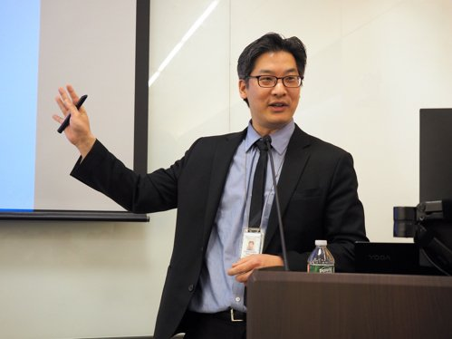 Dr. Christopher Teng's lecture