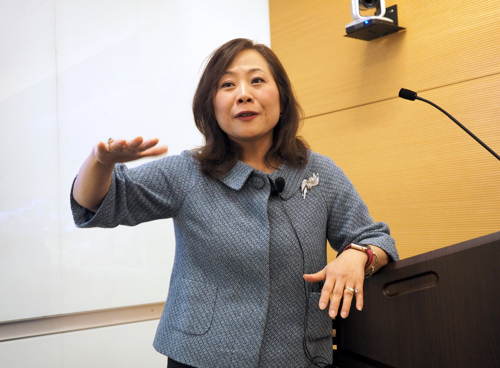 Dr. Judy Kim's lecture