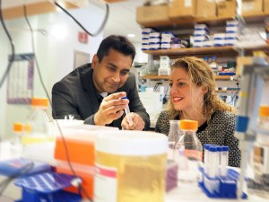 Dr. Shlomit Schaal and Dr. Hemant Khanna- Photo