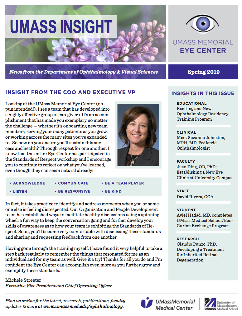 News & Events -Department of Ophthalmology & Visual Sciences