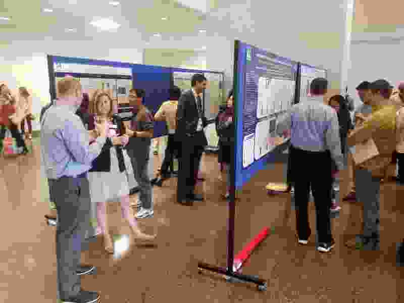 Poster Session showcasing some of the basic and clinical research taking place within the UMass DCOE