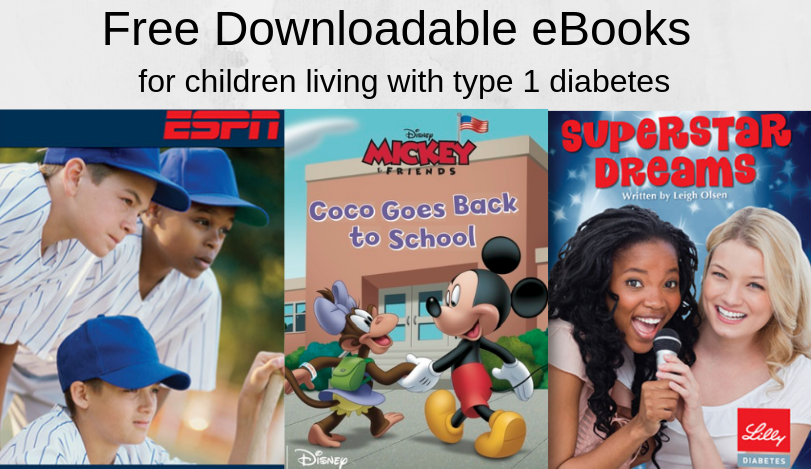 Free Downloadable Diabetes eBooks for Children