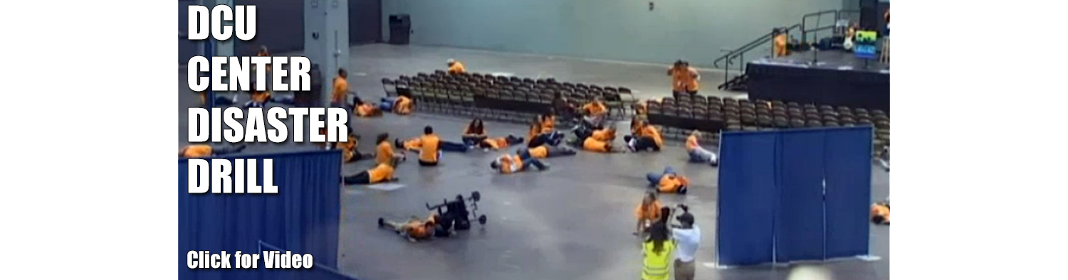 DCU Center Disaster Drill
