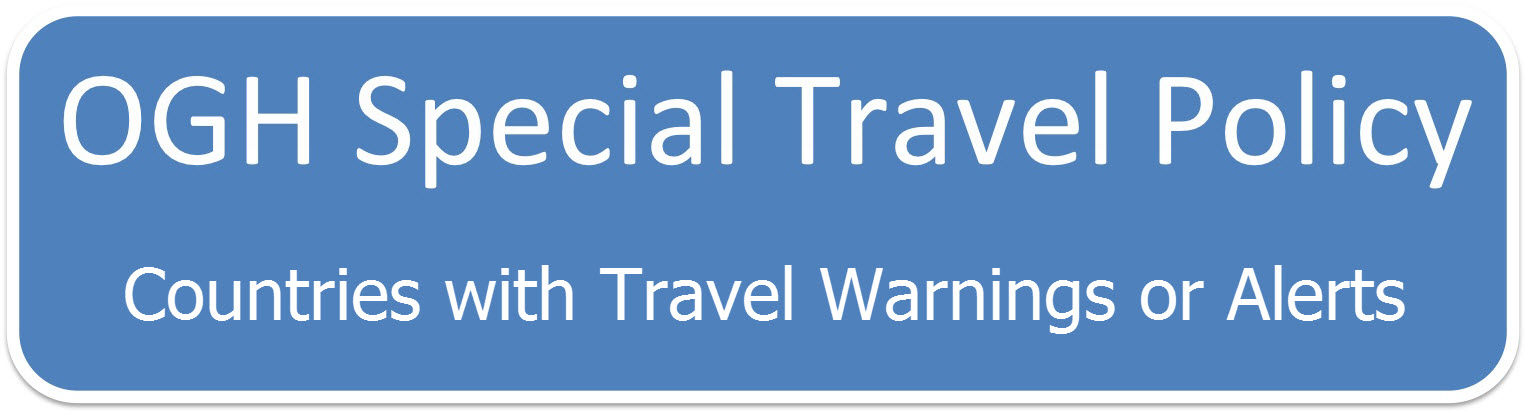 Special Travel Policy