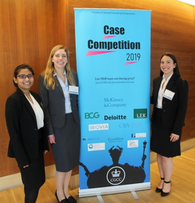ULiSiS board members, Heather Loring, Victoria Julian and Ishani Dasgupta