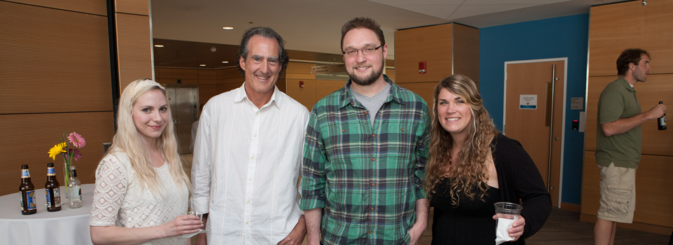 Students and Faculty, including Nobel Prize winner, Craig Mello, at School Celebration