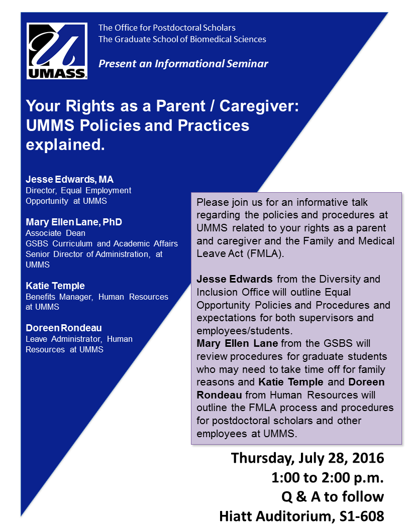 Know your rights as a parent and caregiver