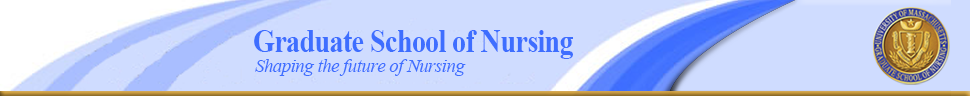 Graduate School of Nursing banner