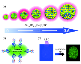 "The ""bottom-up"" synthesis and applications of persistent luminescence nanoparticles"