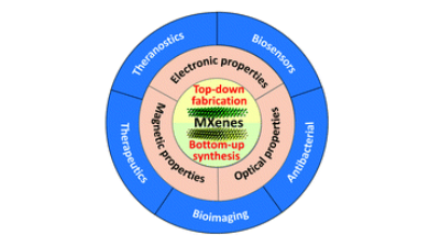 Two-dimensional transition metal carbides and nitrides (MXenes) for biomedical applications