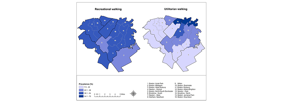 Comparison Walking Environment