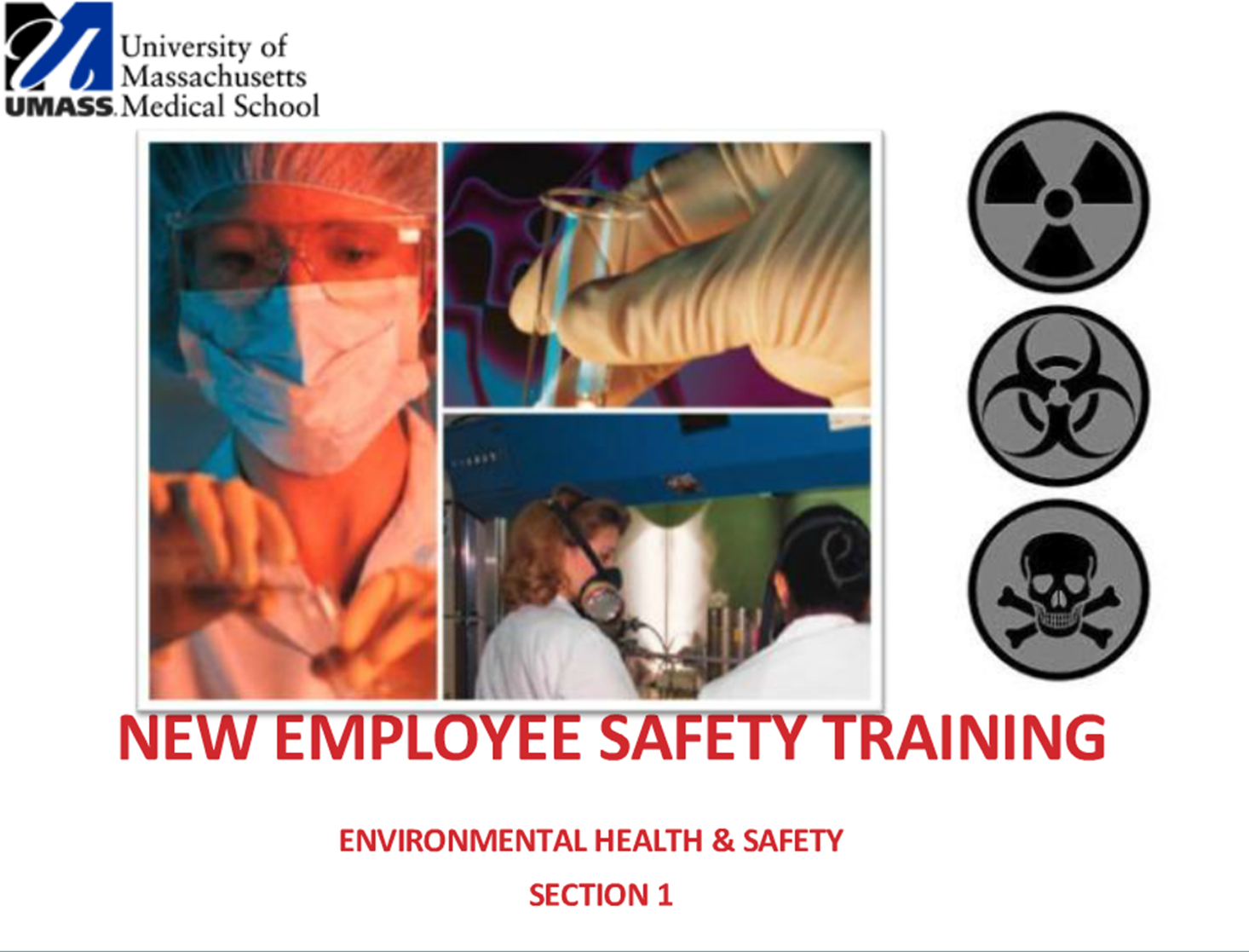 New Employee Safety Training Video