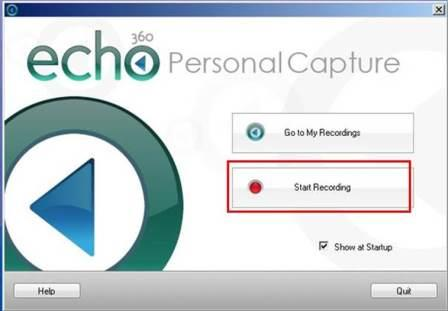 Echo Personal Capture