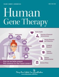 Human Gene Therapy Magazine Cover