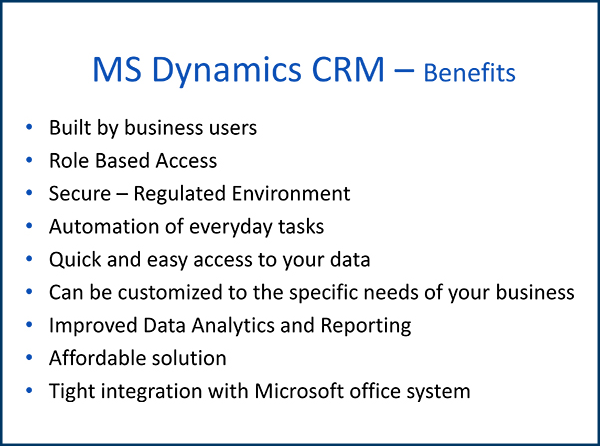 Microsoft Dynamics Consulting Services for the UMass Medical School