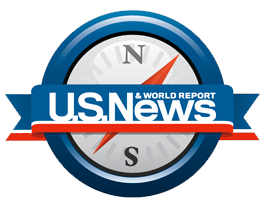 Image of US News & World Report logo
