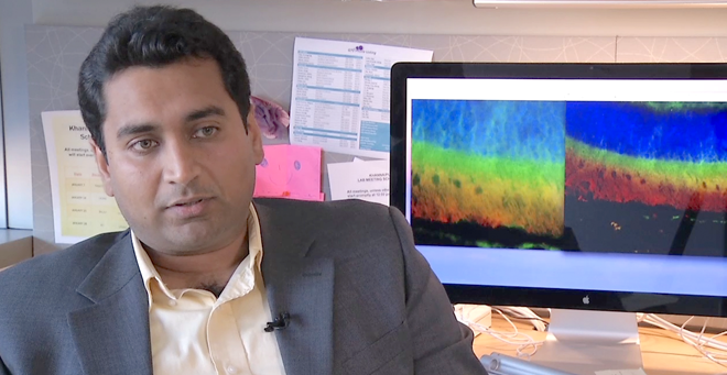 Hemant Khanna exploring innovative gene therapy for severe inherited eye disorder