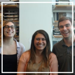 2016 summer interns Mueller Lab