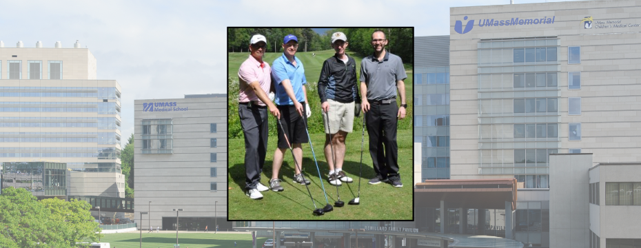 Clubs for Colorectal Cancer golf tournament