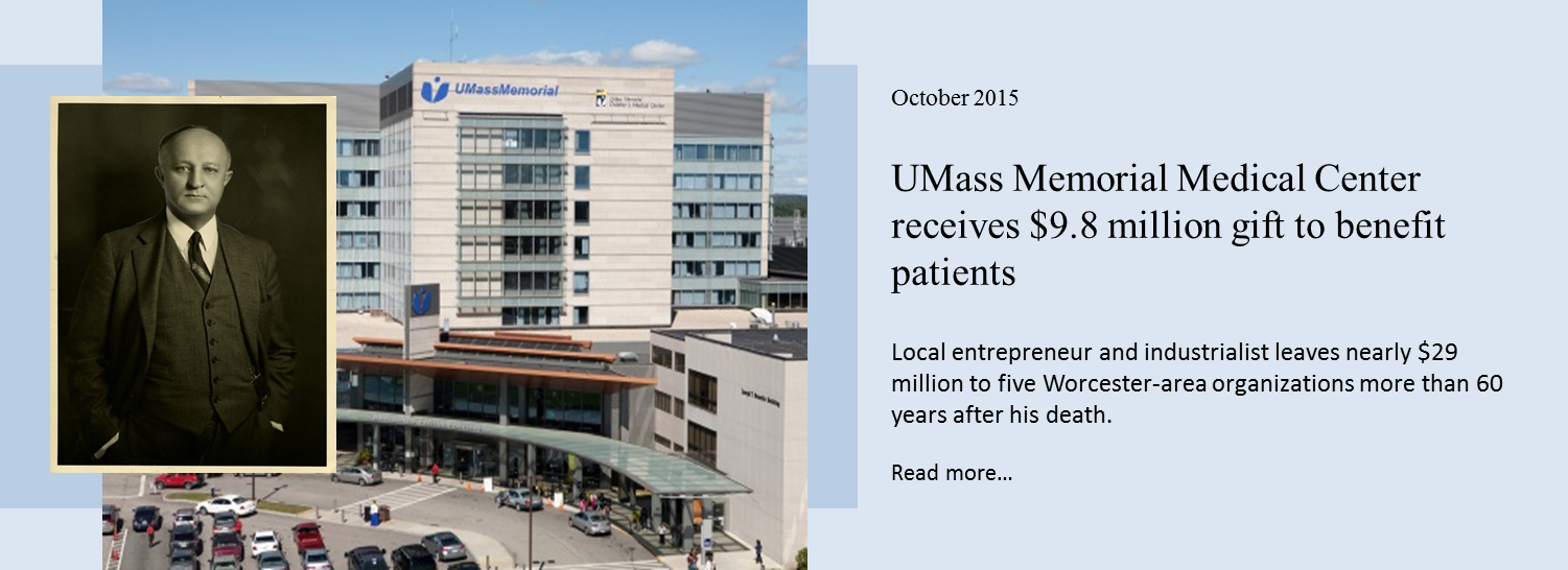 UMass Memorial receives 9 million gift