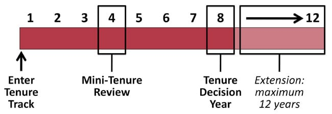 Tenure Probationary Period Timeline