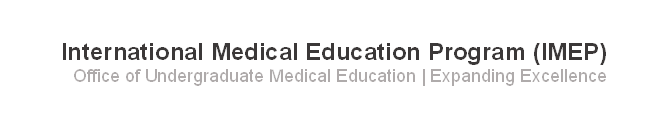 International Medical Education banner