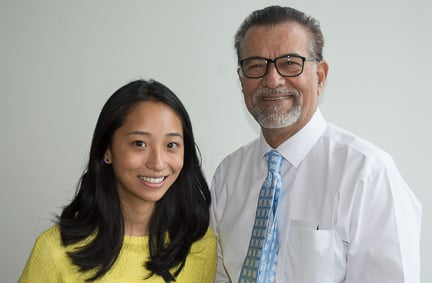 Elizabeth Yuan and Dr. Sarwat Hussain - Radiology UMass Medical School